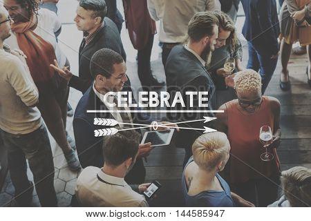 Celebrate Enjoyment Event Festive Social Party Concept