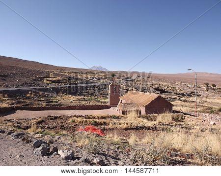 church at atacama desert, igreja no deserto do atacama