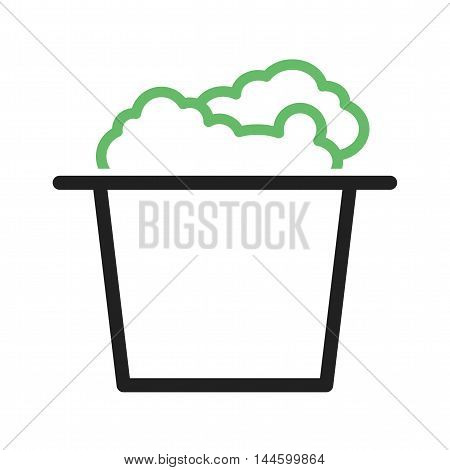 Popcorn, corn, snack icon vector image. Can also be used for circus. Suitable for use on web apps, mobile apps and print media