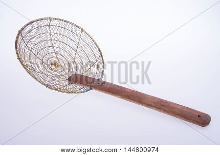 Strainer Or Chinese Strainer Used In The Kitchen.