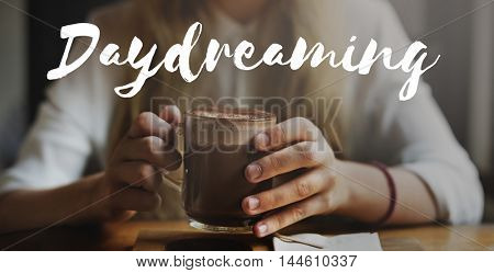 Daydreaming Carefree Faith Freedom Happiness Concept