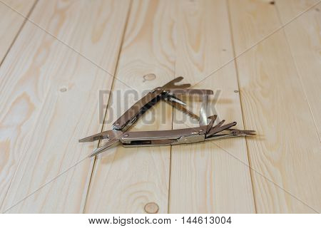 Open Multitool On The Floor