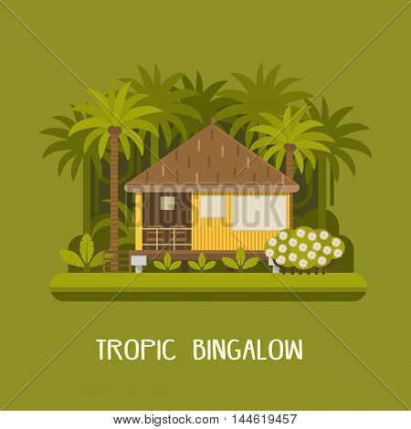 Forest Bungalow Background