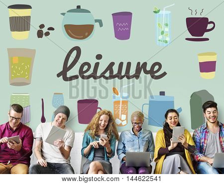 Leisure Chill Peace Relax Rest Serenity Wellness Concept