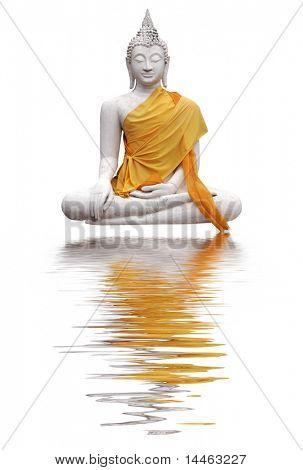 Buddha with reflection
