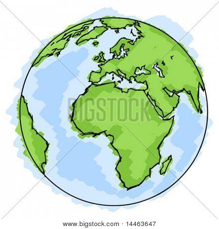Simple earth
