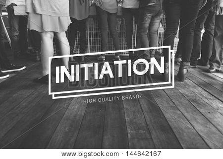 Diaspora Initiation Job Fair People Team Concept