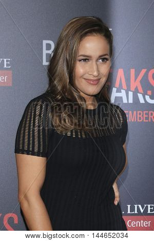 LOS ANGELES - AUG 28:  Jaina Lee Ortiz at the