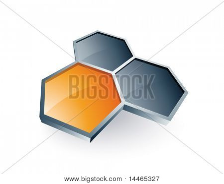 Hexagons design