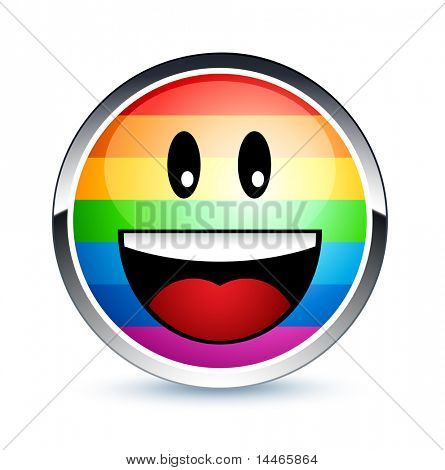 Gay smiley