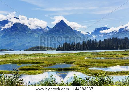 Landscapes of Alaska, United States