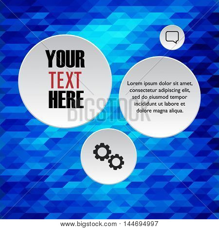Infographics design tempalte. Vector business infographic elements