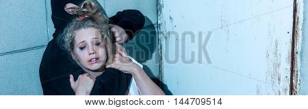 Young And Scared Woman