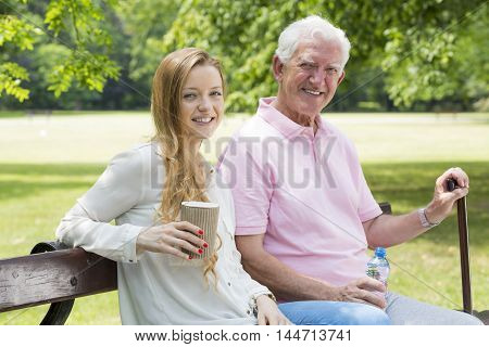 Coffee For Me, Water For Grandpa