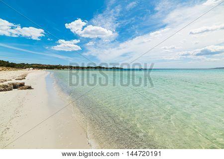 Puntaldia beach in Costa Smeralda in Italy
