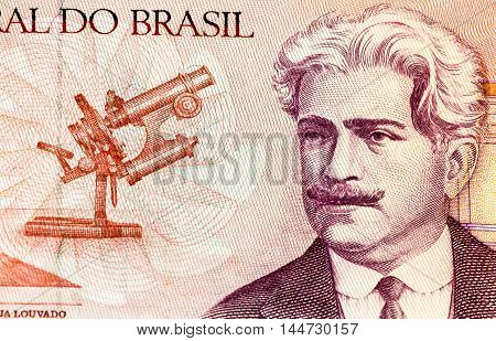 50 Brasilian cruzados bank note. Cruados is the former currency of Brasil