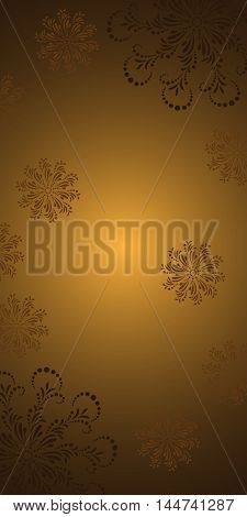Abstract vector floral background. For posters banners and other printed products.