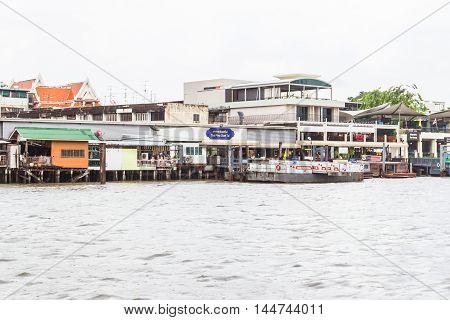 Bangkok Thailand - June 5 2016: Closer view of
