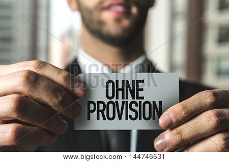 Without Provision (in German)