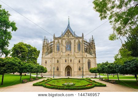 Saint Barbaras Church Kutna Hora