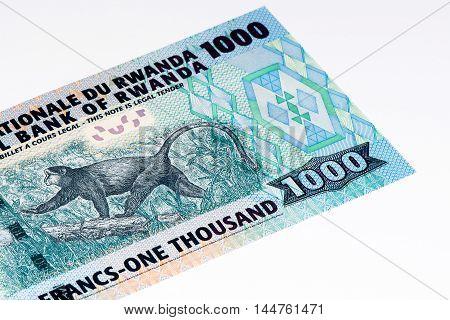 1000 Rwandan francs of Rwanda. Rwandan francs is the national currency of Rwanda