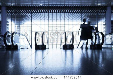 modern escalator