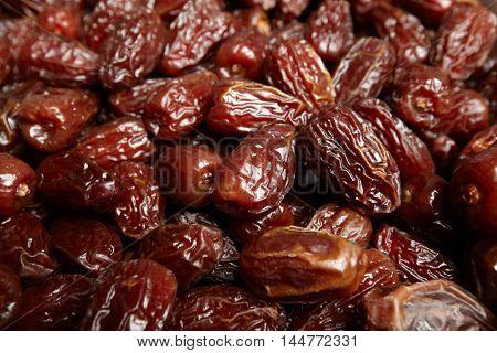 Organic fresh medjool dates.