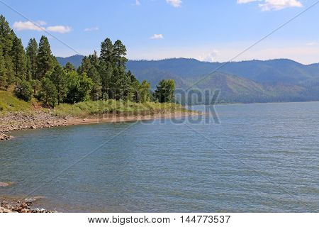 Summer at Vallecito Lake in Durango, Colorado