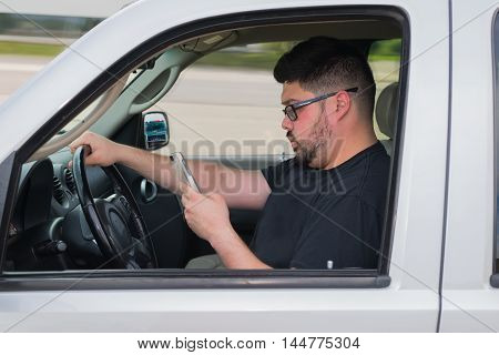 Texting While Driving and not paying attention can get you in trouble.