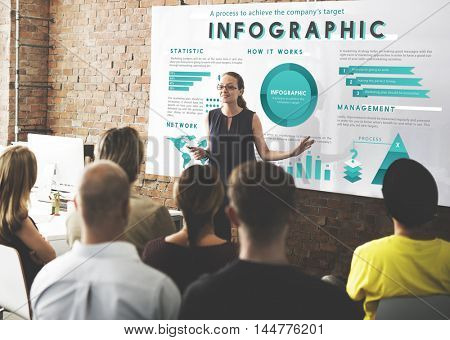 Infographic Global Business Marketing Plan Concept
