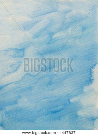 Fuffy Light Blue Background