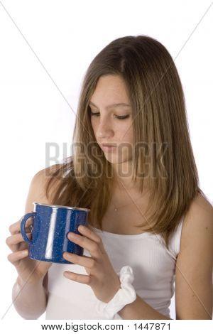 Looking Into Empty Mug