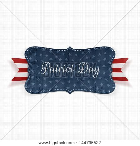 Patriot Day graphic Background Template. Vector Illustration