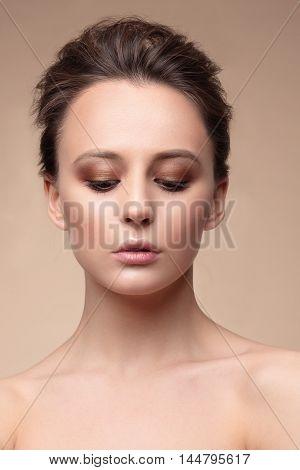 Portrait, Natural Makeup.
