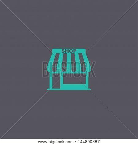 Store Icon. Vector Concept Illustration For Design