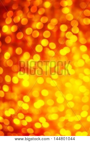 Glitter vintage lights with blurry special magic effect. Glitter defocused with sparkling bokeh