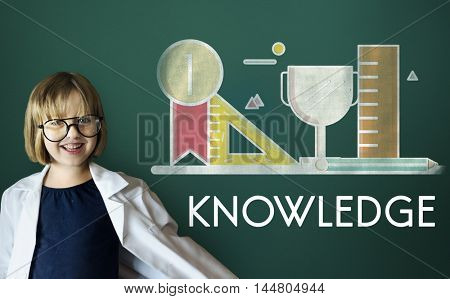 Academic Knowledge Literacy Wisdom Education Concept
