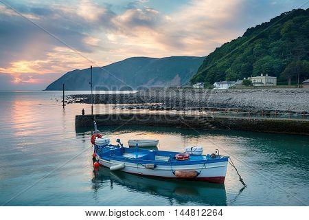 Lynmouth In Devon