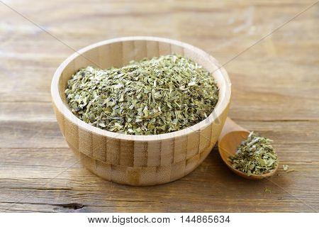 Traditional yerba mate green tea, healthy food