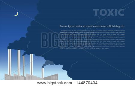 Silent alarm The weather conditions caused by pollution emitted from the plant. It was created by global warming.