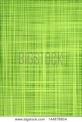 Green burlap. Green cloth texture background. Natural green cloth. Canvas texture. Natural linen seamless pattern. Linen striped green textured sacking burlap background. Vector background.