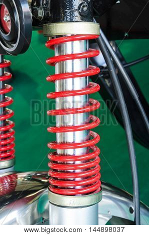 Shock Absorber's motorcycle for reducing vibration when driving.