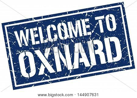 welcome to Oxnard. stamp. grunge square sign
