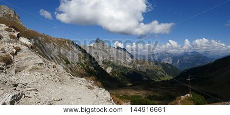 Mountain Panorama Nature Landscape Outlook View