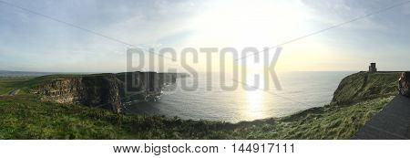 Cliffs Of Moher. Ireland Cliff Landmark Landscape Coastline