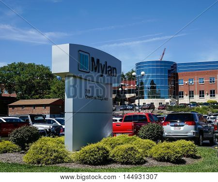 Mylan Facility In Morgantown Wv