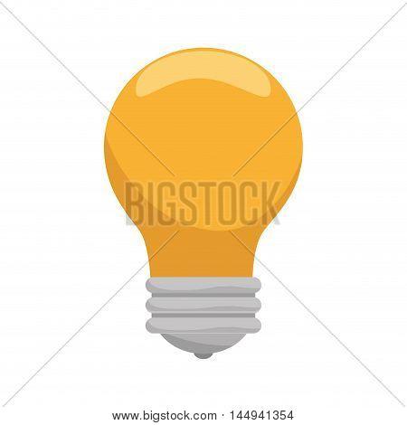 bulb power light bright energy electric lightbulb vector illustration