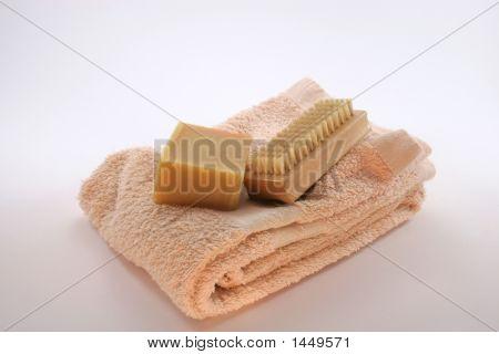 Soap, Brush & Towel
