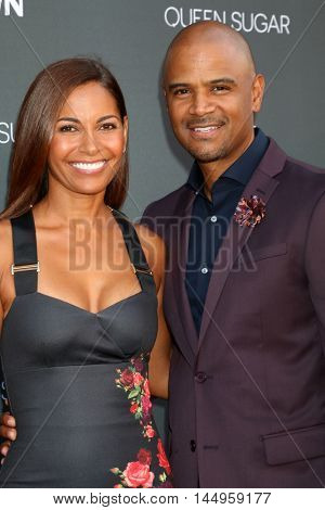 LOS ANGELES - AUG 29:  Salli Richardson-Whitfield, Dondre Whitfield at the Premiere Of OWN's