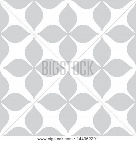 Vector seamless pattern. Modern stylish texture. Repeating geometric tiles. Monochromatic geometric pattern